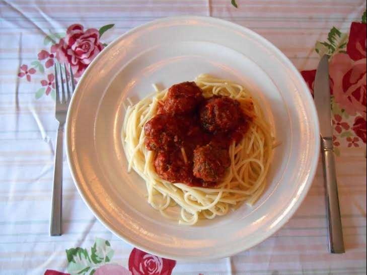 Recept pasta met Griekse gehaktballen